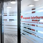 Herzpraxis Solothurn, Eingang
