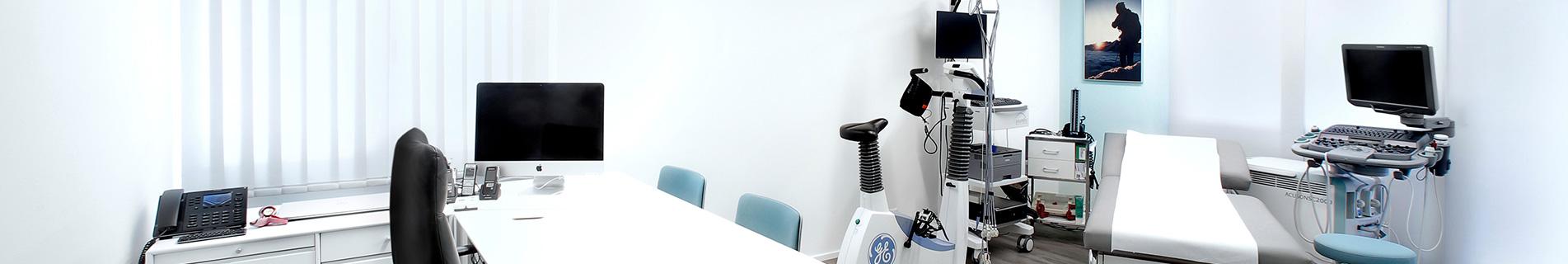 Herzpraxis Solothurn, Behandlungszimmer